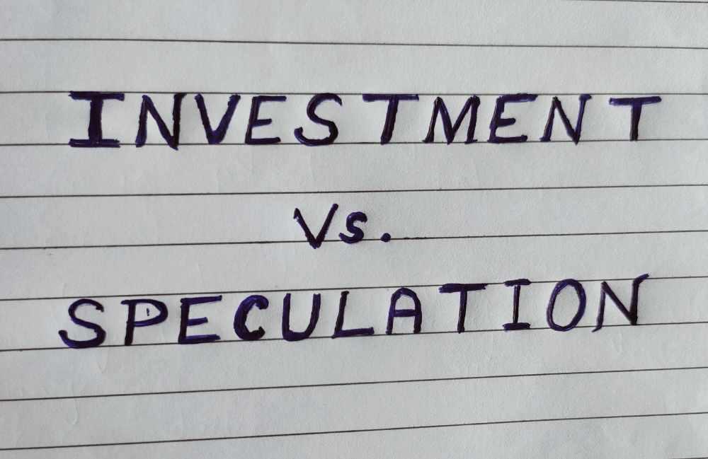 Investování vs spekulace